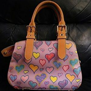 Dooney & Bourke Heart Print Bag